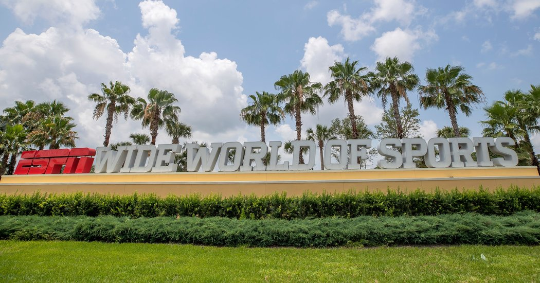 Why the N.B.A. Is Planning on Going to Disney World