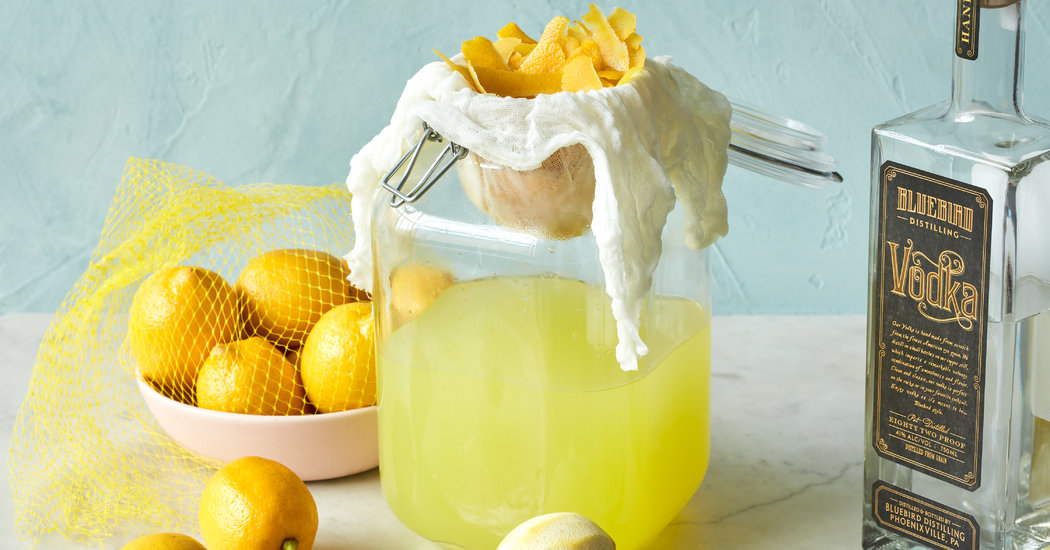 How to Make Limoncello - The New York Times